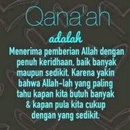 qanaah